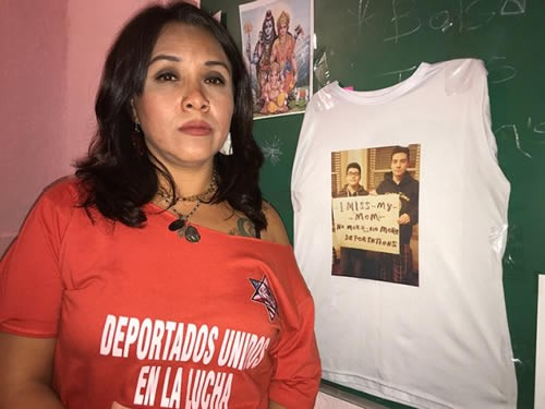 CDMX: Desalojan a deportada mencionada por RicardoAnaya en el debate. Noticias en tiempo real