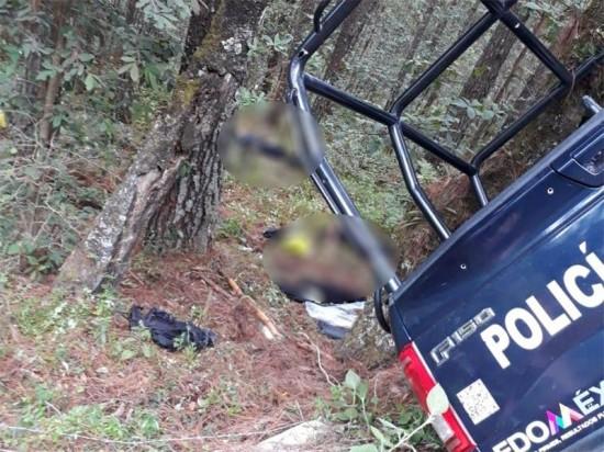 Edomex: EMBOSCAN y EJECUTAN a 4 Policías Estatales de Almoloya. Noticias en tiempo real